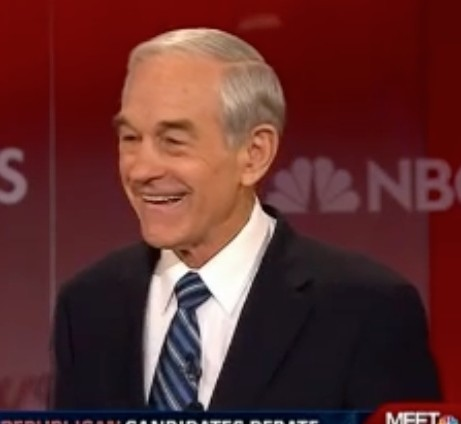 Ron Paul, debating